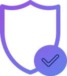 High privacy and Security
